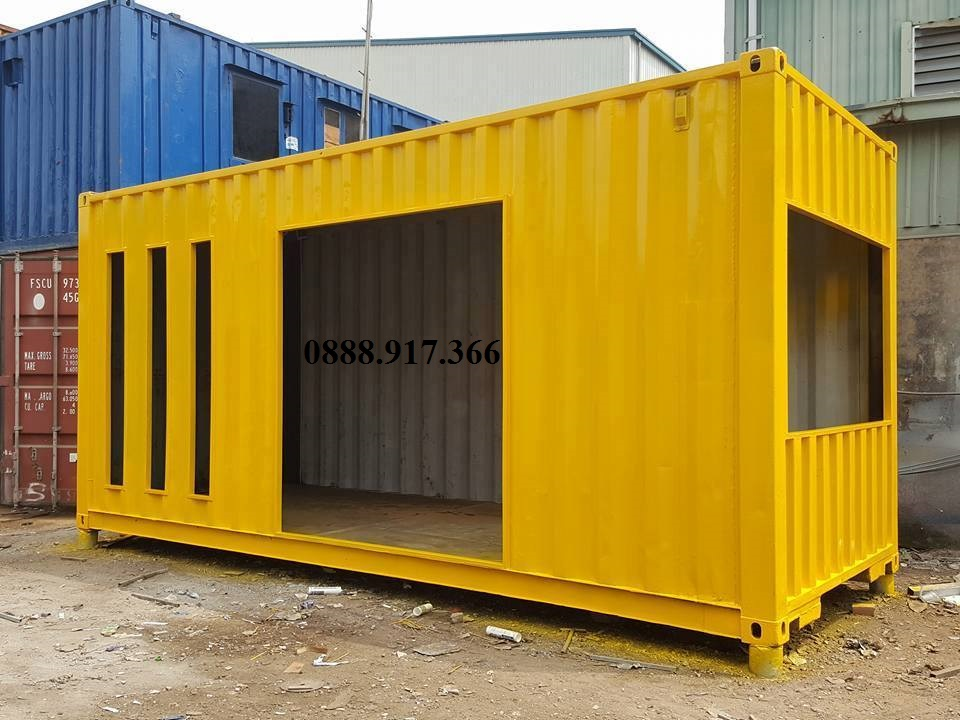 Container thiết kế theo yêu cầu